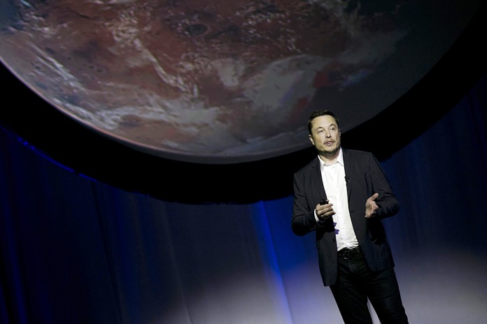 SpaceX founder Elon Musk elaborated on his plans to colonize Mars in a Reddit session Sunday, Oct. 23, 2016. (AP Photo/Refugio Ruiz, File)