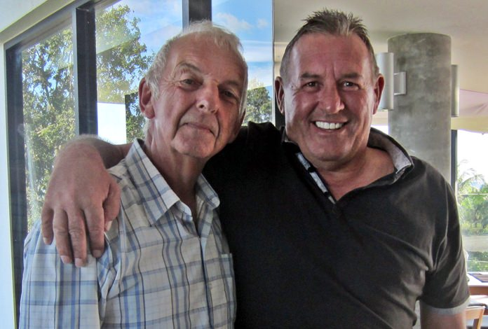 Mick Coghlan (left) and Phil Davies.