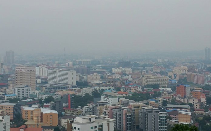 From the fog shrouding Pattaya Nov. 21, you'd be forgiven if you thought you woke up in London.