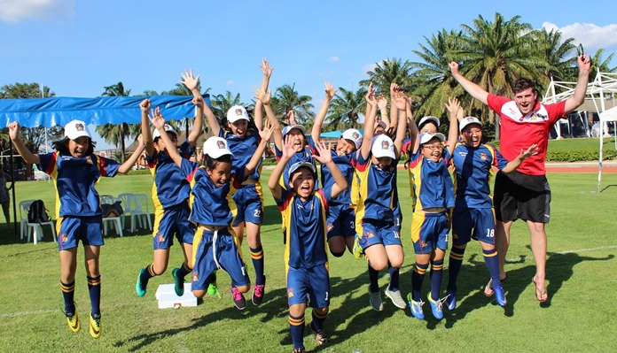 British International School Ho Chi Minh City students enjoyed a great sports day at Regents.