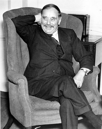 Author H. G. Wells is shown in this Nov. 8, 1937, file photo. (AP Photo)
