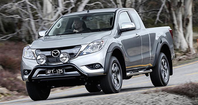 Current Mazda BT-50.