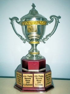 The John Preddy Memorial trophy.