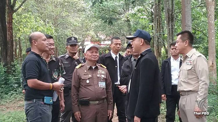 Sandalwood trees picked for royal cremation ceremony of beloved King Bhumibol