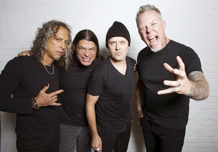 Kirk Hammett, Robert Trujillo, Lars Ulrich, James Hetfield