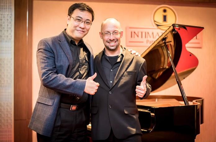 Dr. Baolu Chen and Srdjan Caldarovic.