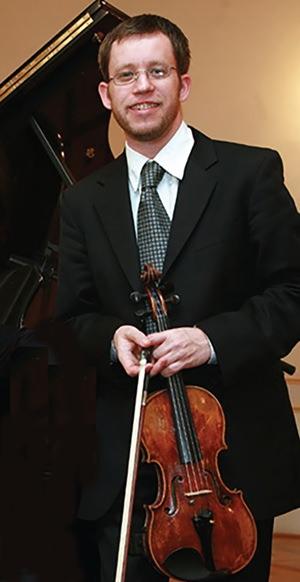 Violinist Ivan Novinc.