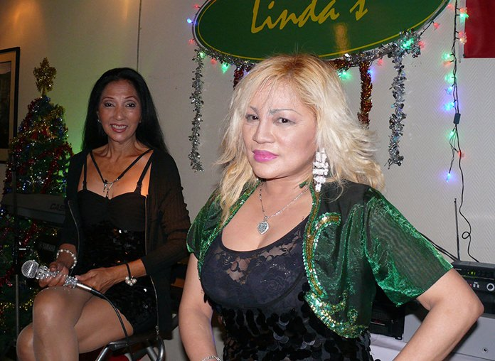 Well known songstresses Ruby, and Mary Sanvictores.