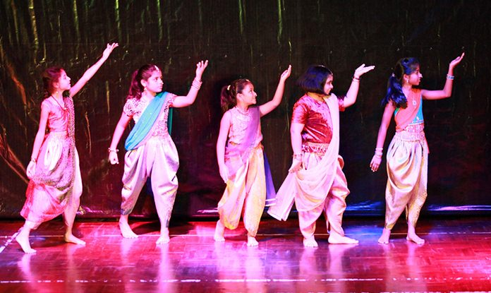Primary students worked hard to prepare for their Diwali dance.
