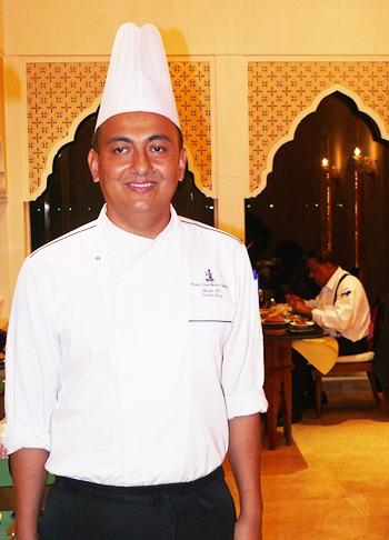 The proud Chef Hosam.