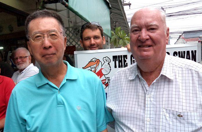 Takeshi Hakozaki & Bernie McCart.