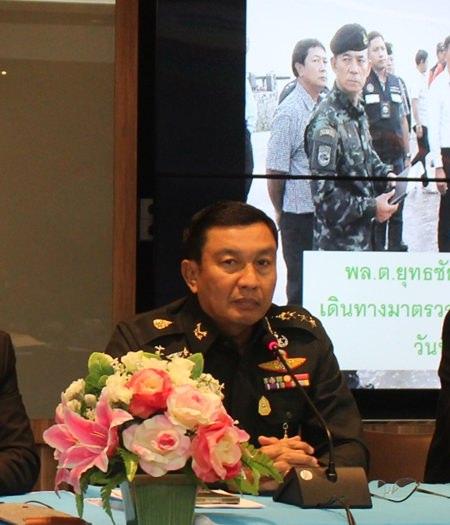 Col. Popanan Luangpanuwut, deputy commander of the 14th Military Circle.