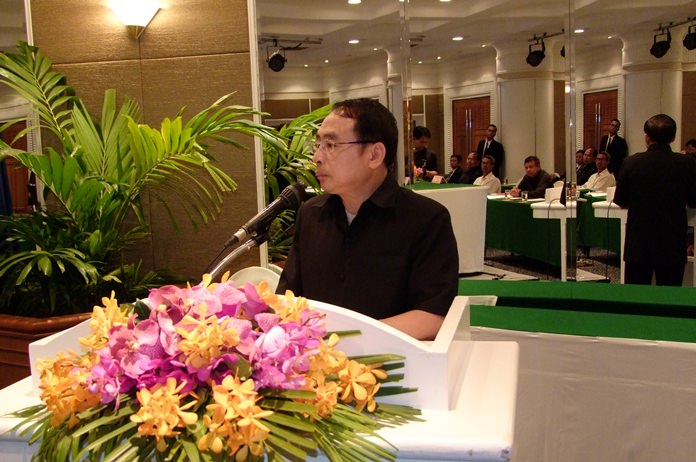 The Prime Minister's Office took the first steps towards upgrading the country's water-supply systems and water quality at a hearing in Pattaya.