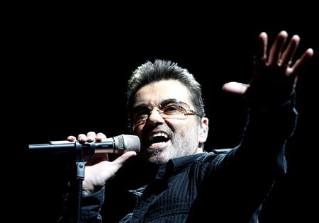 Singer George Michael is shown in this June 25, 2008 file photo. (AP Photo/Matt Sayles)