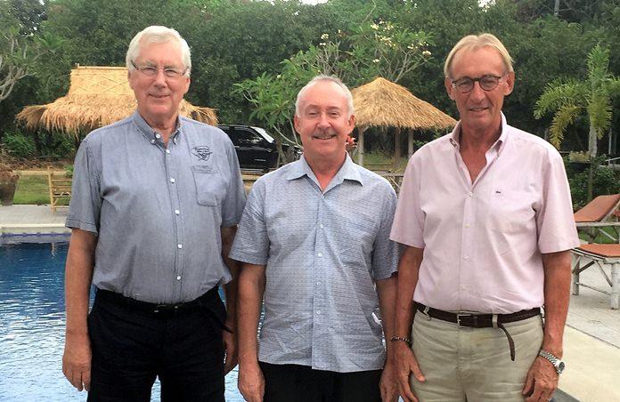 (L-R) Joop Bijsterbosch, Stuart Banks and Willem Lasonder.