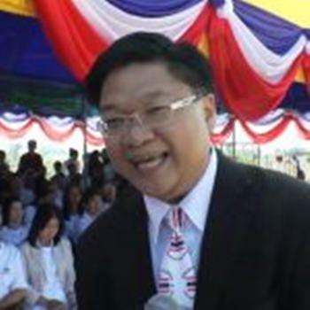 Mr Pruetipol Prachumpol, the director of the Thai Flag Museum