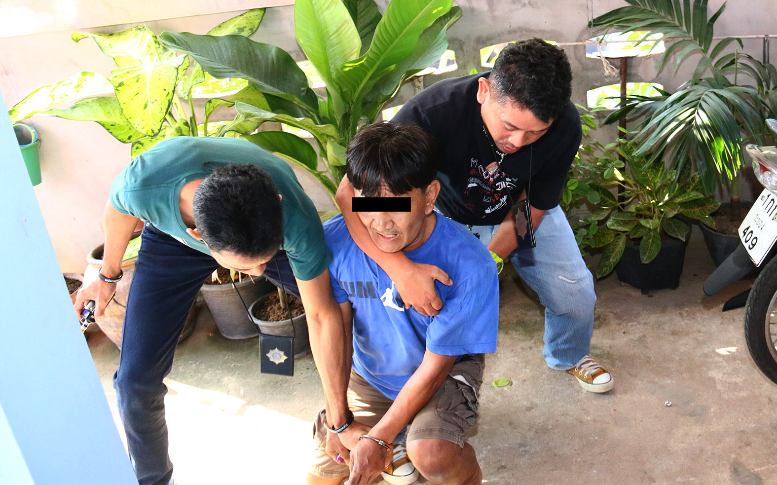 Chaiyut Mokasak was captured in his home.