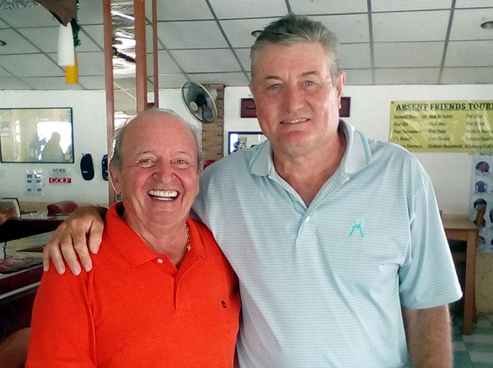 Gerard Lambert and Rick Culley.
