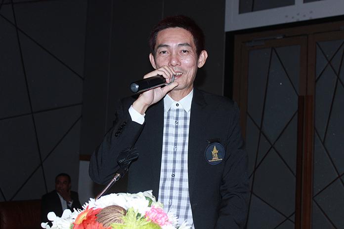 Sanphet Suphabuansathien, president of the THA-E