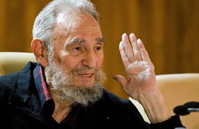 Fidel Castro. (File photo AP)