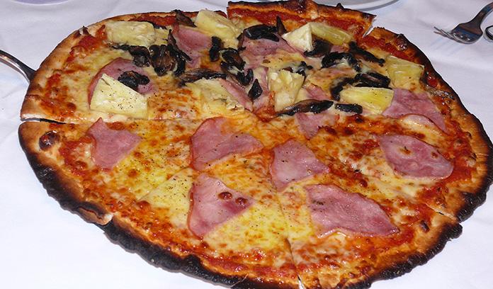 Pizza, everyone's favorite.