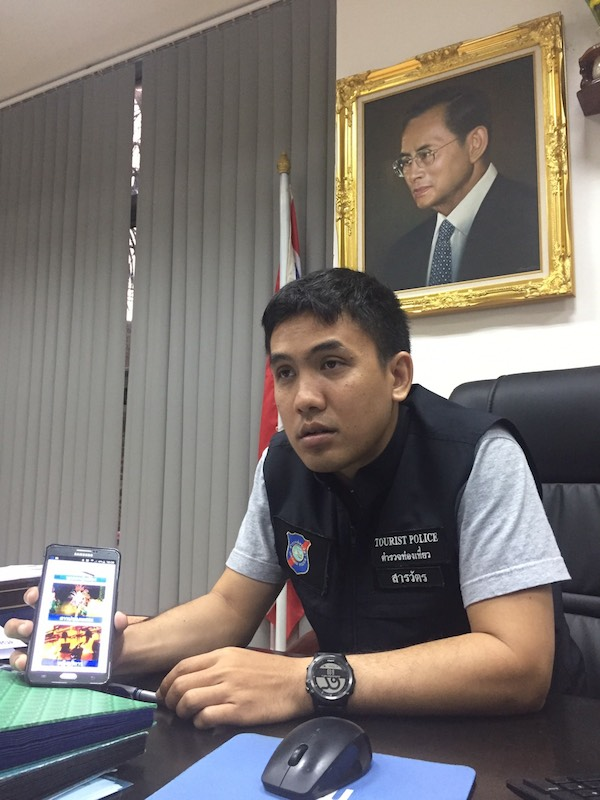 Local Tourist Police Division Chief Pol. Lt. Col. Piyapong Ensarn said the web-based database system went online in November.