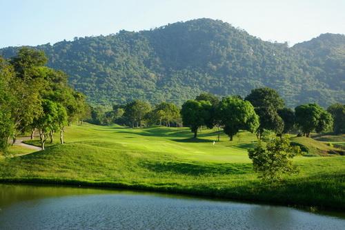 Emerald Golf Course.