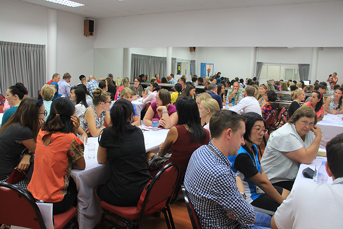 Regents International School Pattaya recently hosted two days of workshops for international colleagues from schools as far flung as Hong Kong and Jakarta.