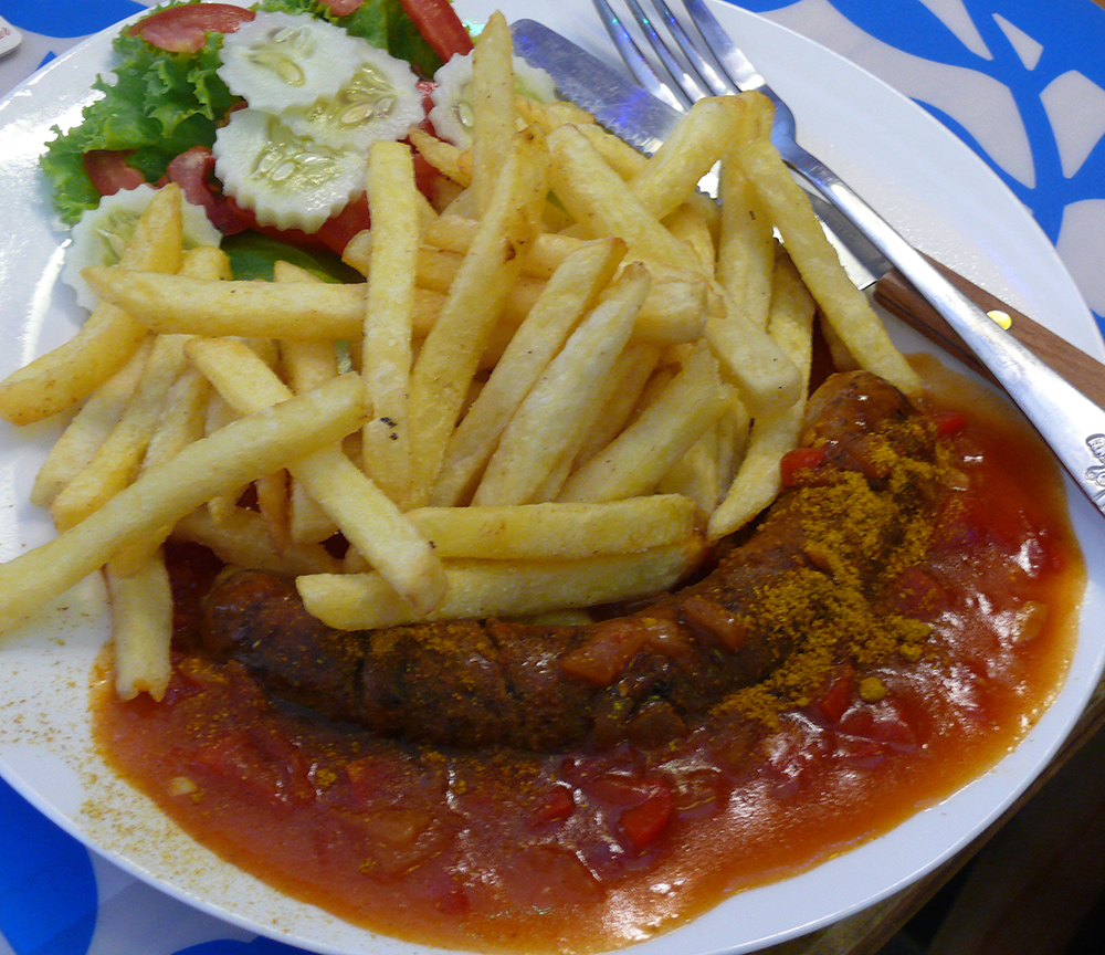 Wonderful Curry Wurst.
