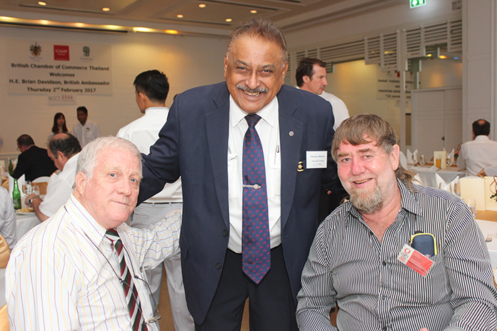 Jim Howard with Peter Malhotra and Jon Foxx from Q Cars.