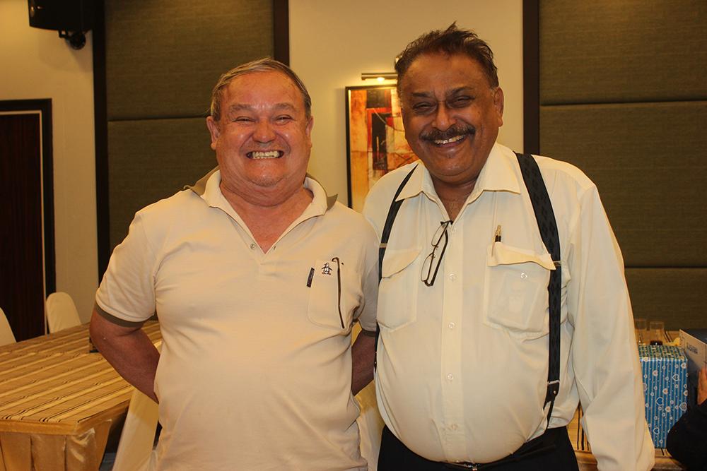 Great friends  Jural Law MD Premprecha Dibbayawan and Pattaya Mail MD Peter Malhotra.