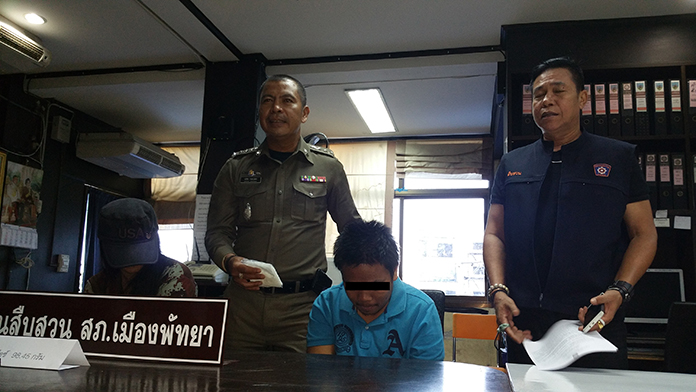 Anchalee Muankajorn and Thanapong Khamnu were apprehended in front of the Tesco Lotus supermarket on Bangpra Road with 98.5 grams of ya ice.