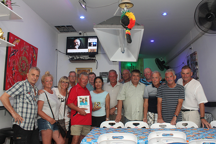 The Iceland Golf Club hosted a wake at the Wow Bar on Soi Buakhao Feb. 4 for member Ingi Magnfredsson, who recently died at the age of 71.