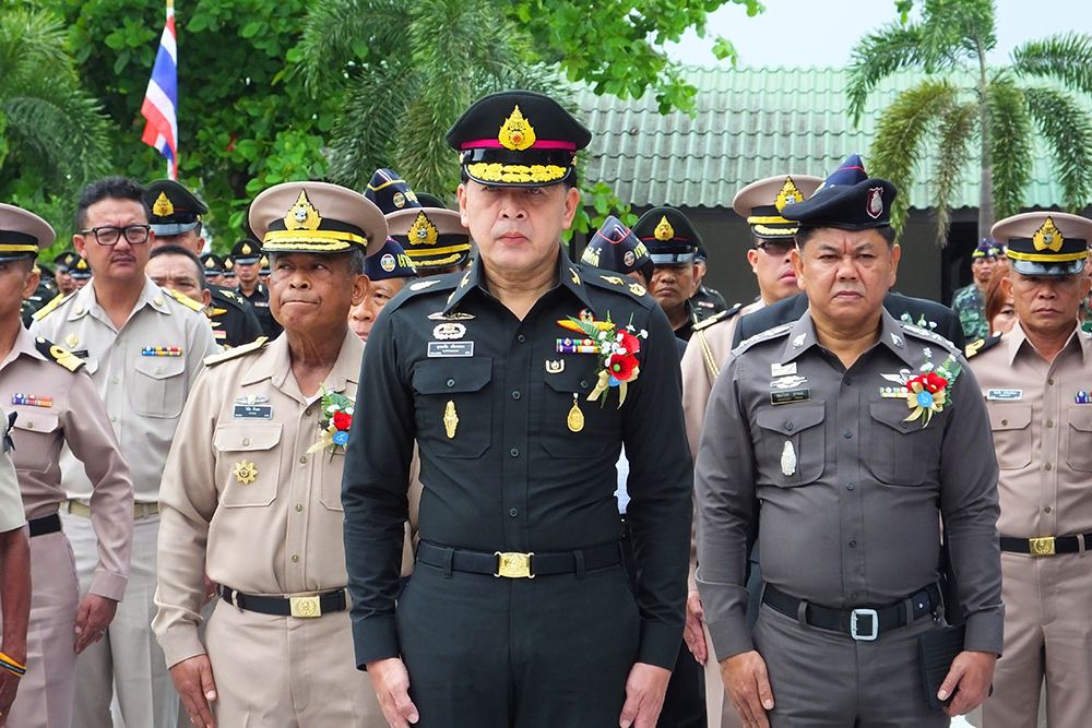Maj. Gen. Yuttachai Tienthong, commander of the 14th Military Circle.
