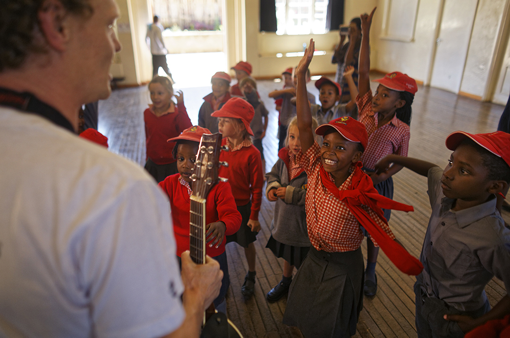 Although Kenya lies on the equator and has dramatic nighttime skies in rural areas, children find it hard to name planets and other bodies as astronomy is rarely taught in schools - but that is changing as The Traveling Telescope visits some of the country's most remote areas with telescopes and virtual reality goggles. (AP Photo/Ben Curtis)