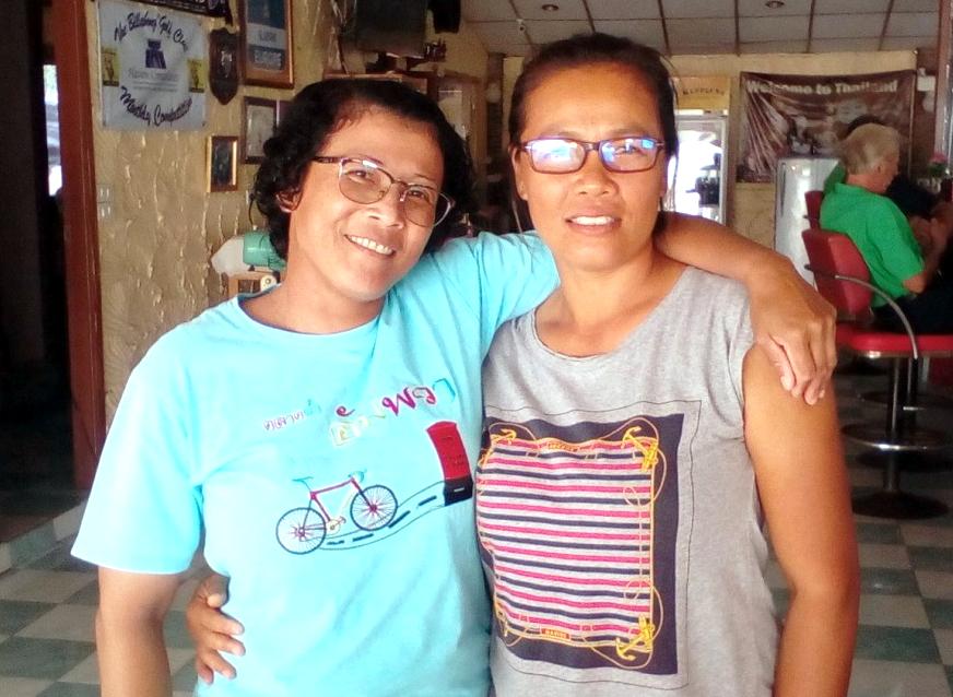 Miss Sa and Miss Da.