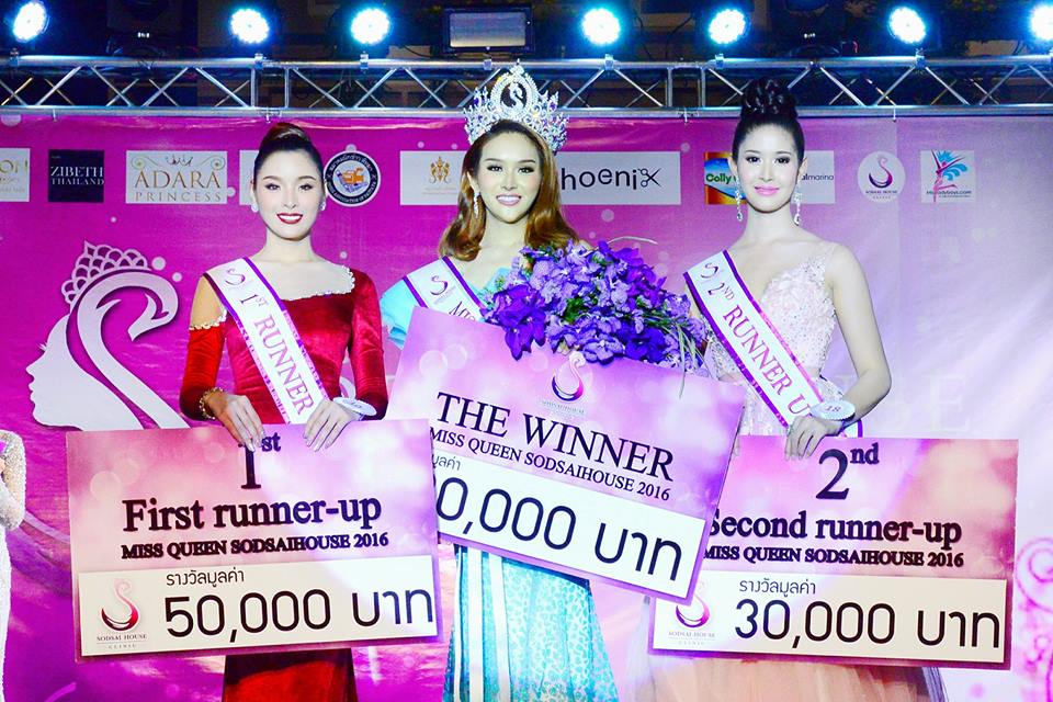 "Ponchanate ""Barbara"" Gaterasamichoat, 26, placed first in the Miss Sodsai Home pageant to claim 80,000 baht cash and another 400,000 baht in prizes at the Feb. 18 pageant at Central Marina shopping mall."