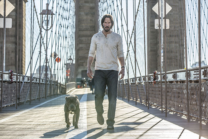 "This image shows Keanu Reeves in a scene from, ""John Wick: Chapter 2."" (Niko Tavernise/Lionsgate via AP)"