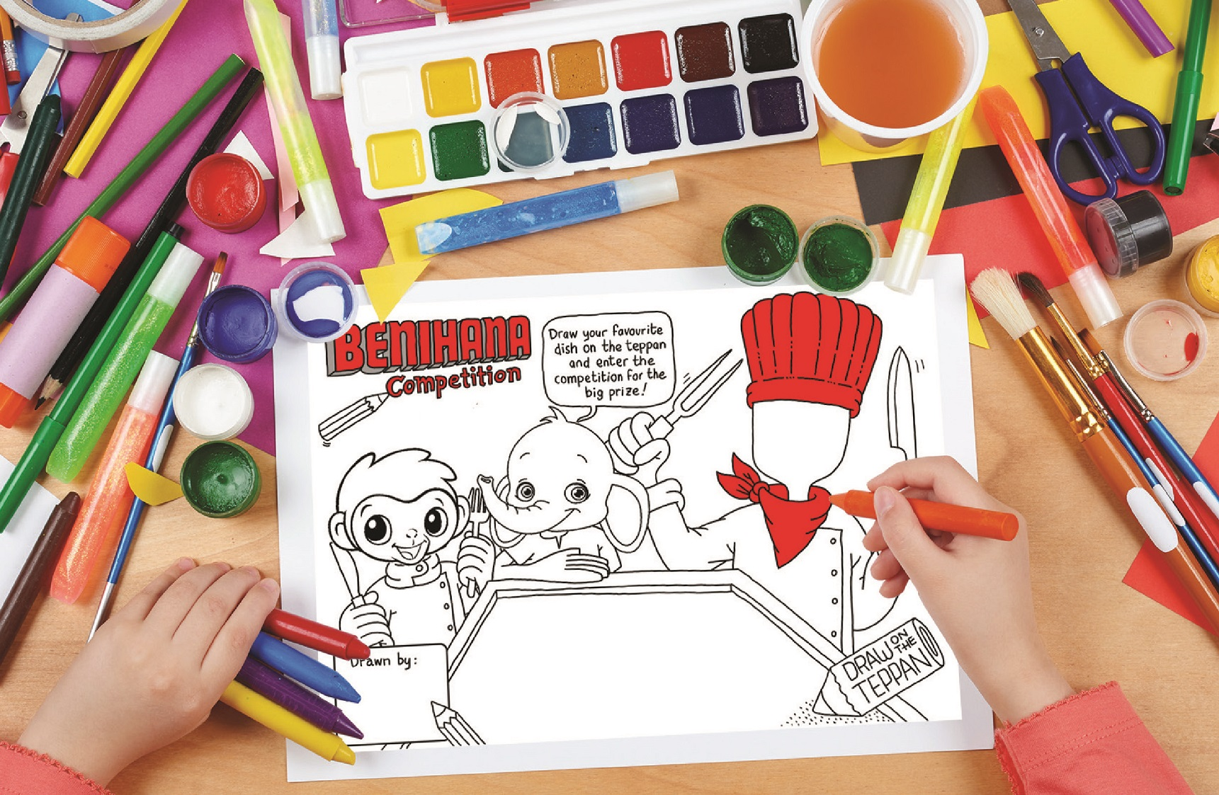 VATR Benihana drawing competition Flyer A4 (Verion all)