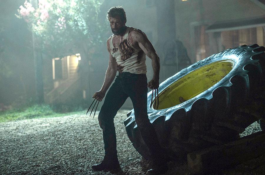 """This image shows Hugh Jackman in a scene from, """"Logan."""" (Ben Rothstein/Twentieth Century Fox via AP)"""