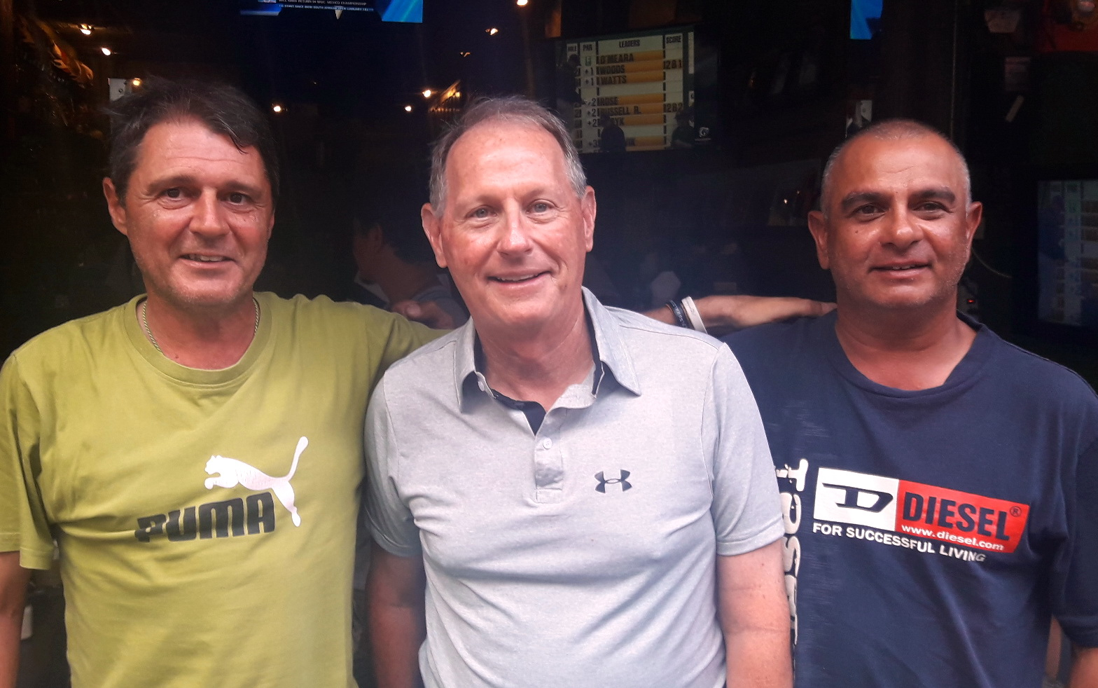 Mark Wood, Dan Dietz and Steve Sweeney.