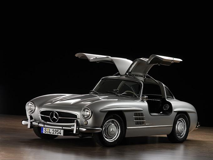Mercedes-Benz Gull Wing.