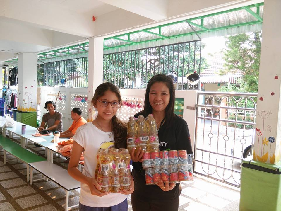 The February Slum Food appeal was once again an overwhelming success.