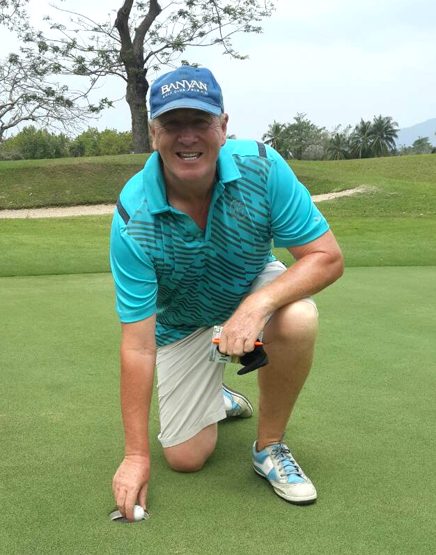 Kevin Blake - hole in one at Khao Kheow.