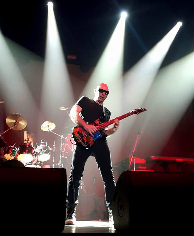 Joe Satriani wows the audience at the Centerpoint Studio in Bangkok, Friday, Feb. 17.