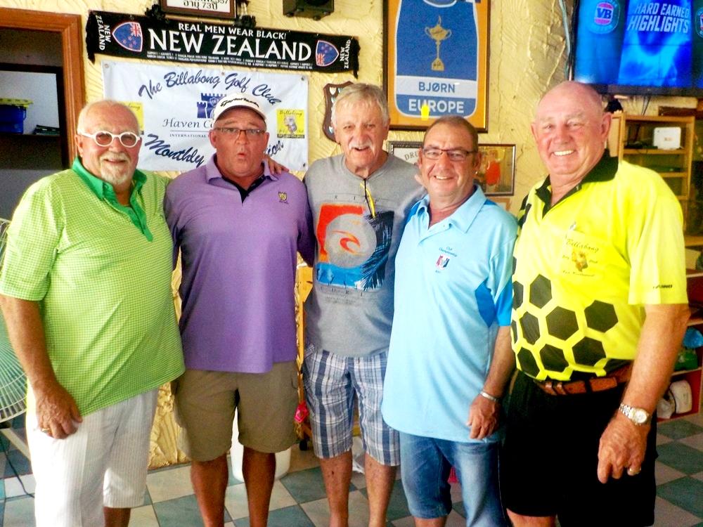 Grieg, David, John, Mick & Capt. Bob.