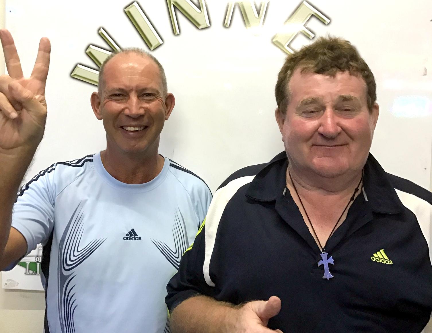Huw Philips & Matt Conin.