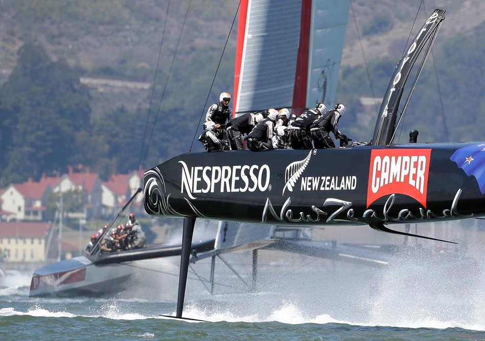 Emirates Team New Zealand. (AP Photo/File)