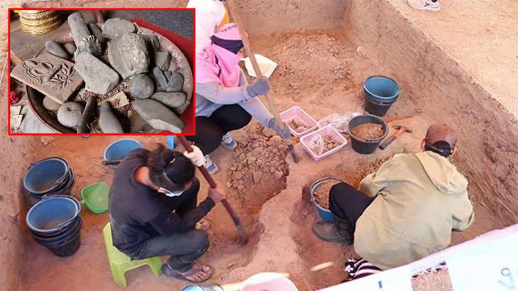 Thailand News 14-03-17 NNT 4 2,000-year-old artifacts found in Khon Kaen 1JPG