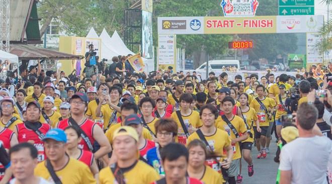 Thailand News 15-03-17 5 TAT Ayutthaya Kizuna Ekiden 2017 celebrated 130 years of Thai-Japanese relations 3JPG